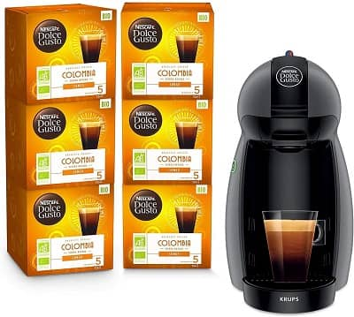dolce gusto machine cafe capsule