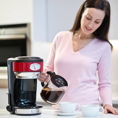 russell hobbs cafetiere retro